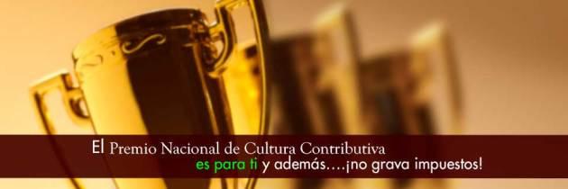 Se crea el Premio Nacional de Cultura Contributiva